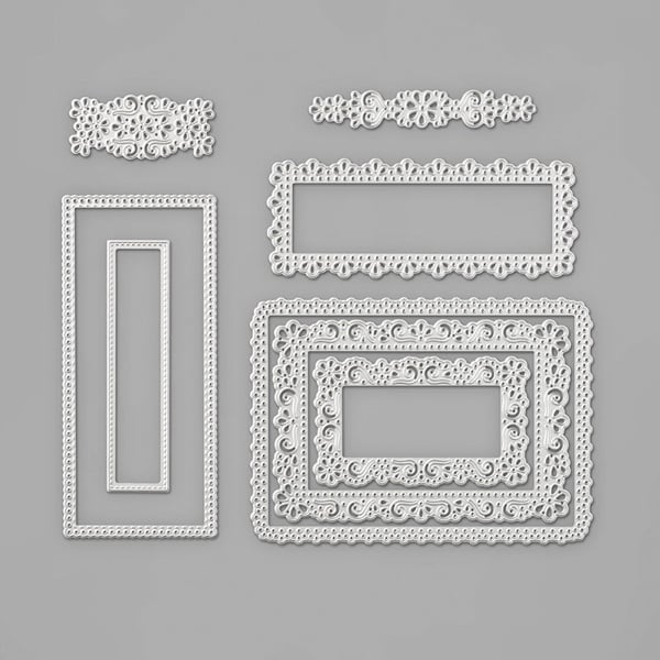 Stampin Up Ornate Layers dies decorative