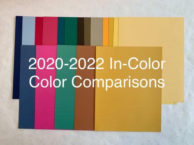 2020 In-Colors Comparison