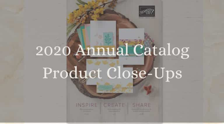 New 2020 Stampin Up Annual Catalog Overview