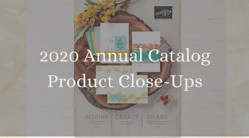 2020 Stampin Up annual catalog