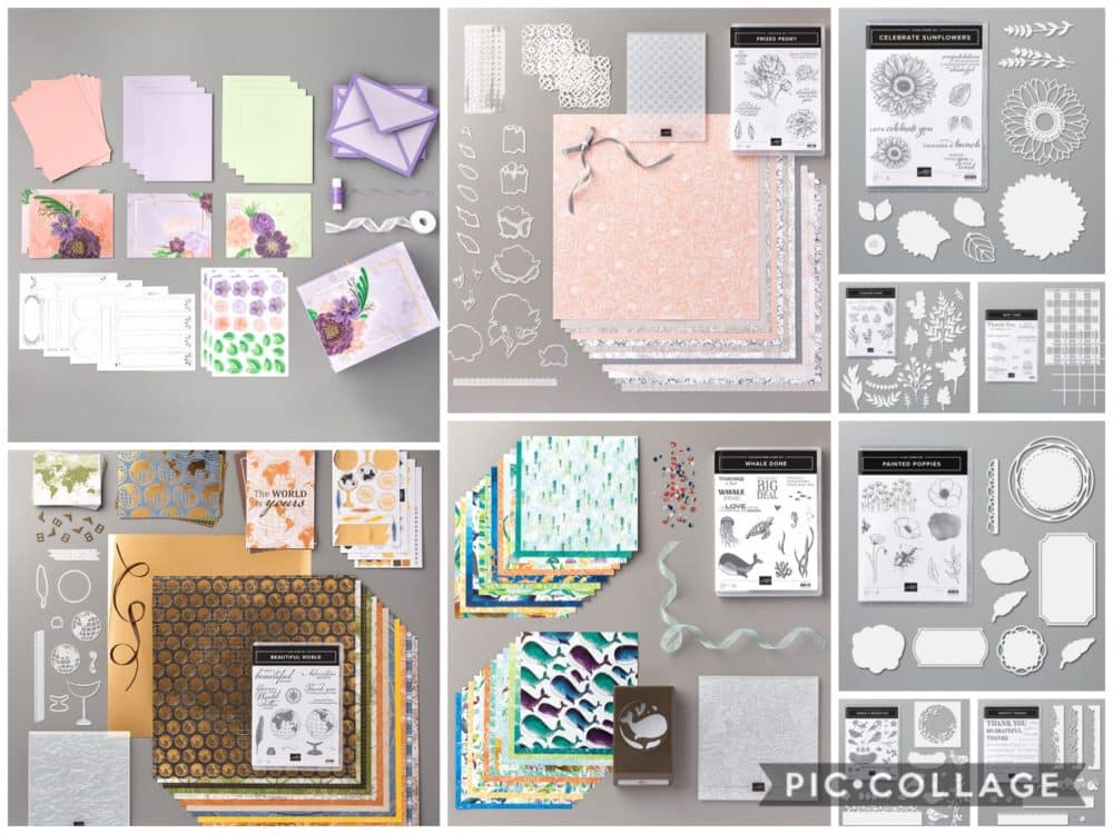 Favorite Stampin Up new annual catalog items