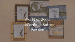 World of Good Memories & More Stampin Up Nautical old world