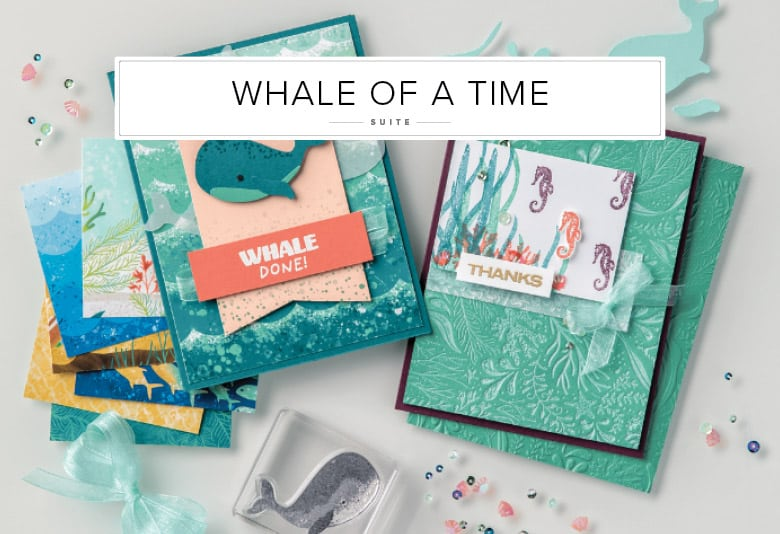 Whale of a Time Stampin Up DSP sequins bundles