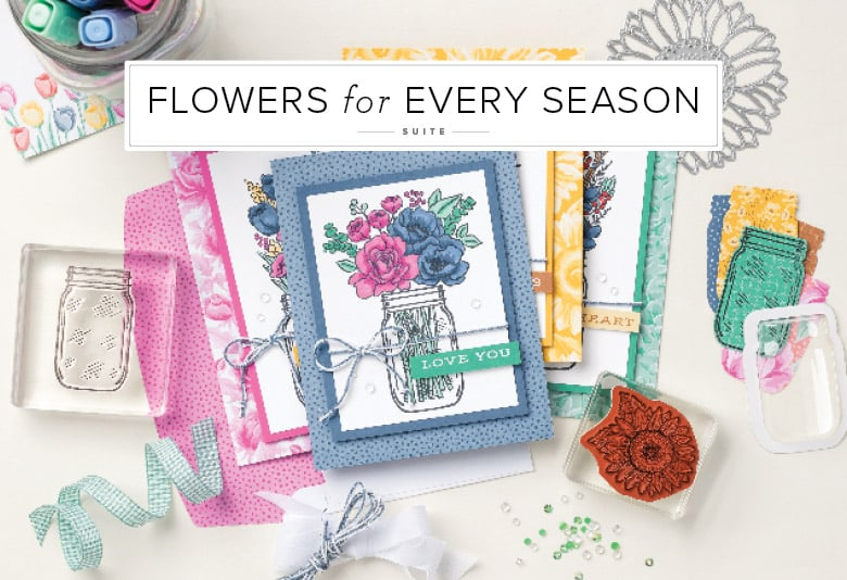 Stampin Up Floral flowers greeting cards sunflowers birthday cards for girls