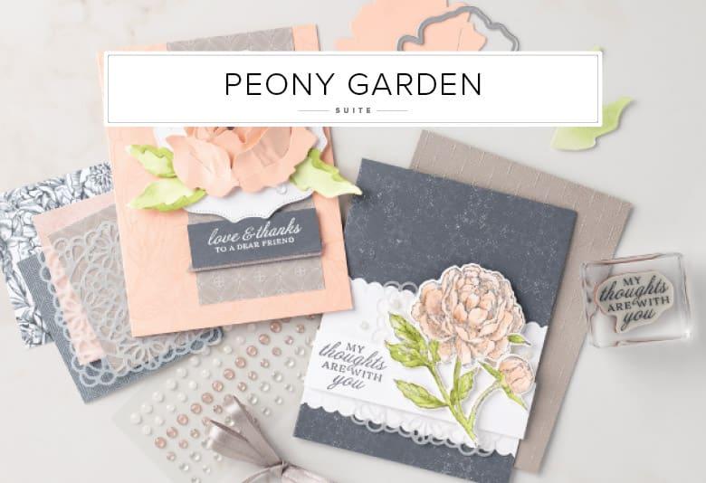Peony Garden Suite Stampin Up