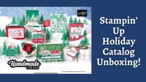 Stampin up holiday catalog unboxing