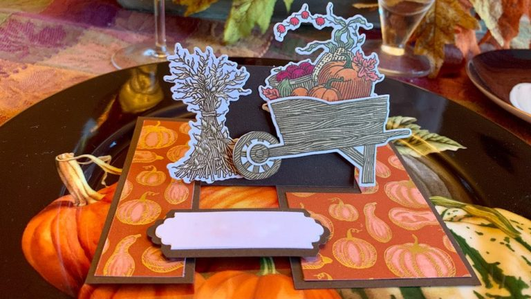 Sharing Gratitude Thanksgiving Placecards