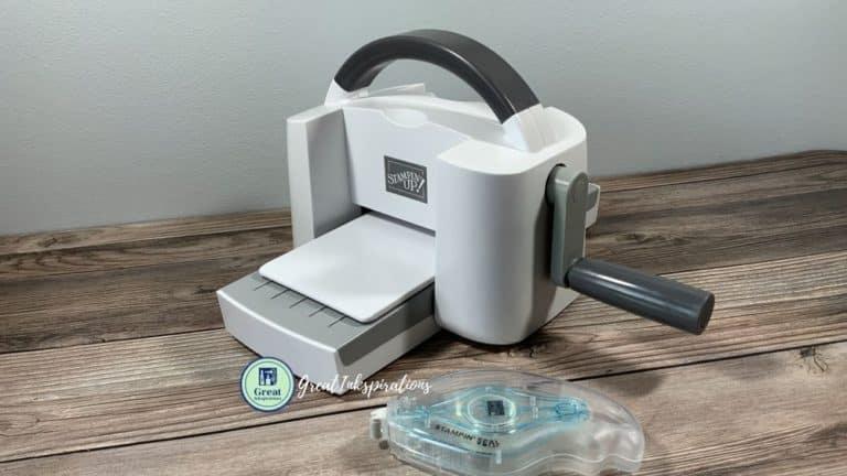New Mini Stampin Cut & Emboss Machine