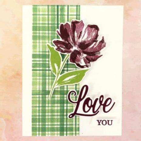 Fine Art Floral Spring 2021 Mini Catalog Valentines Day Card