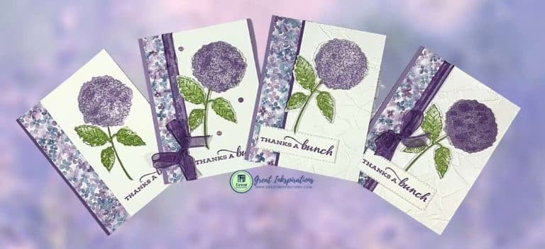 Hydrangea Hill Thank You Cards