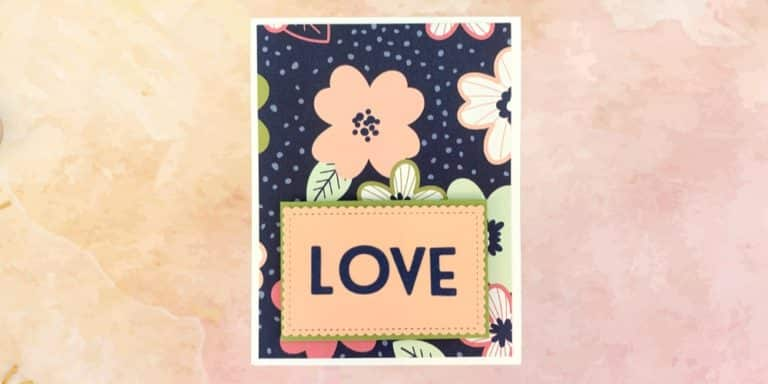 Paper Blooms Valentines Day Card Tutorial