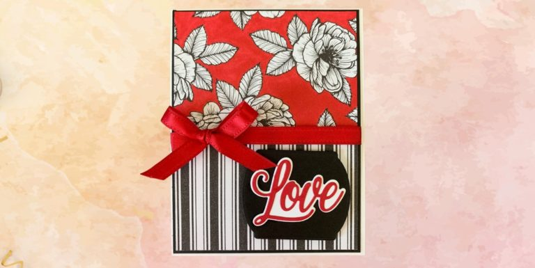 True Love Valentines Card Tutorial