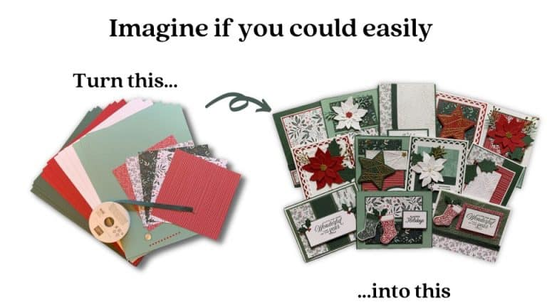 Introducing the Tidings of Christmas Card Class