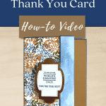 masculine card tutorial pin
